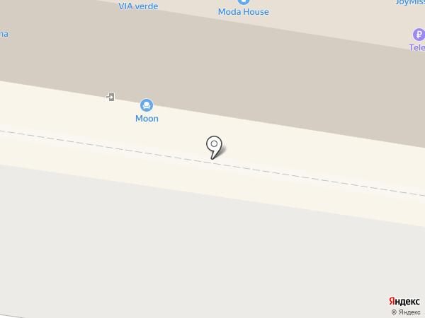 Радуга на карте Тольятти