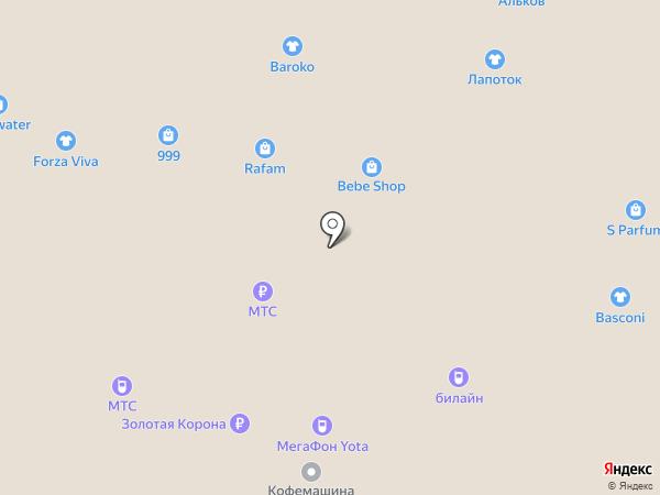 999 на карте Тольятти