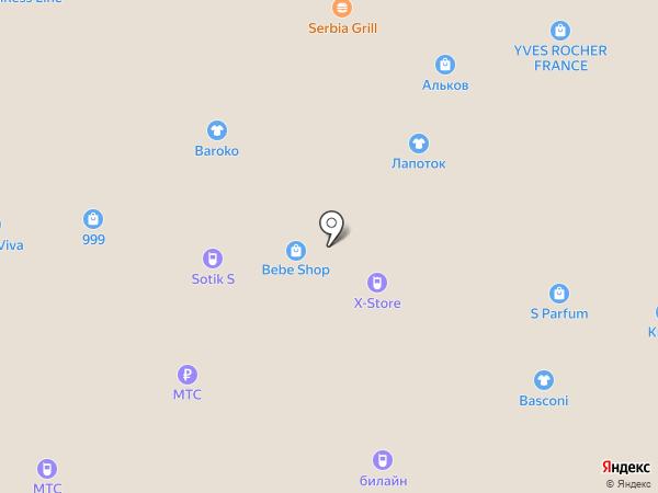 Bonavi на карте Тольятти