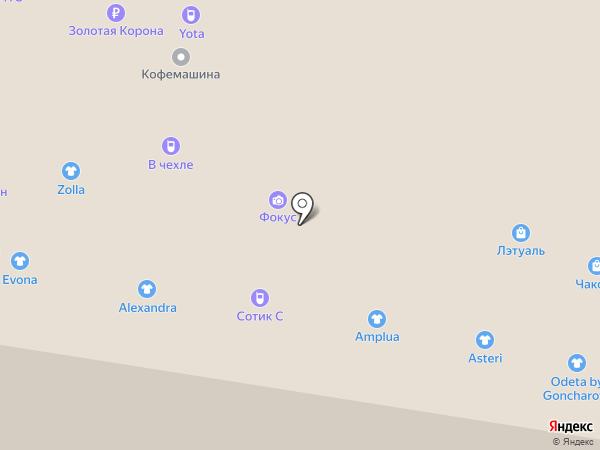 E1 на карте Тольятти