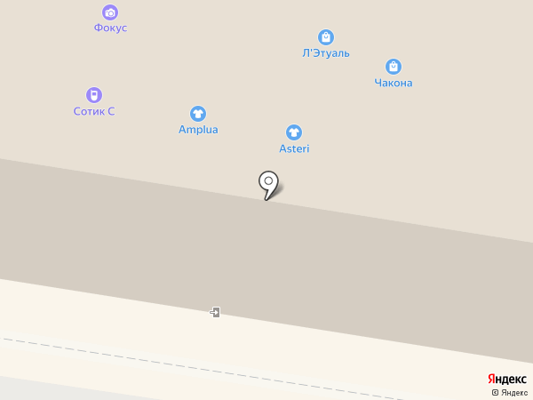 Салон мягкой мебели на карте Тольятти
