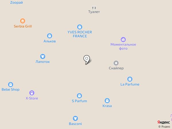 Winnie на карте Тольятти