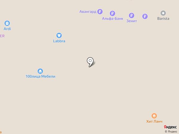 Exclusive image на карте Тольятти