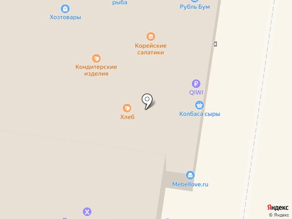Грант на карте Тольятти