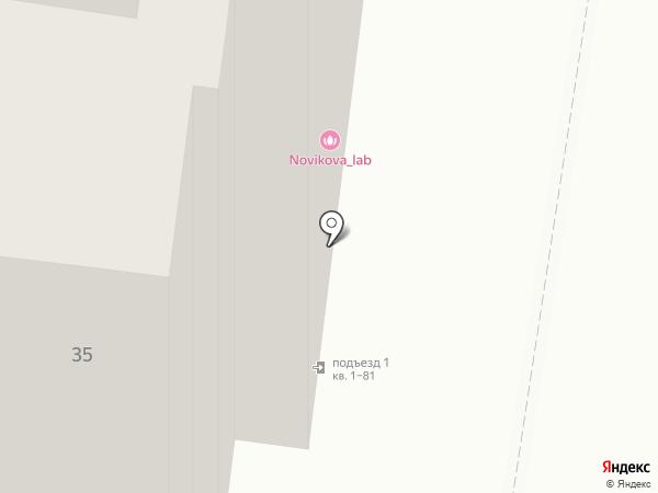 Кокобар на карте Тольятти