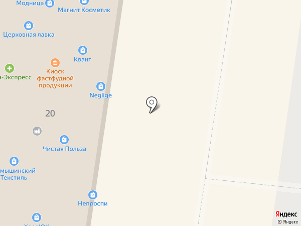 Кондитер на карте Тольятти