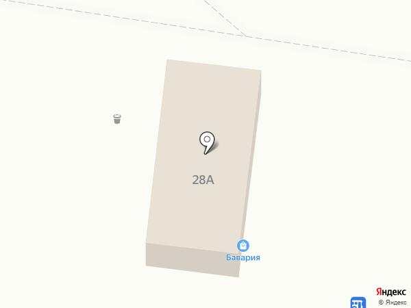 Баваррия на карте Тольятти