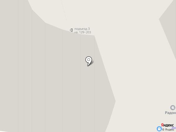 МАИ+3Н на карте Тольятти