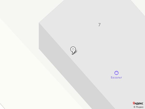 Базальт на карте Высокой Горы
