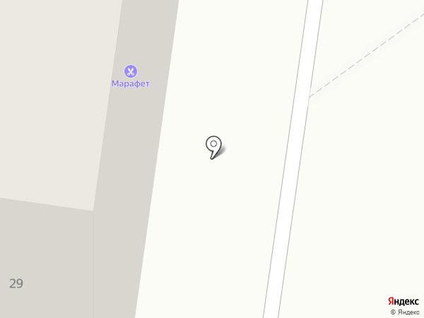Марафет на карте Тольятти