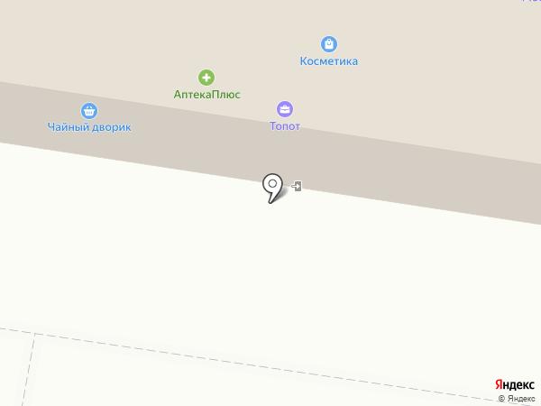 Зеленый город на карте Тольятти