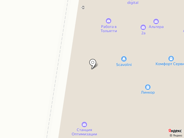 Техноавиа-Тольятти на карте Тольятти