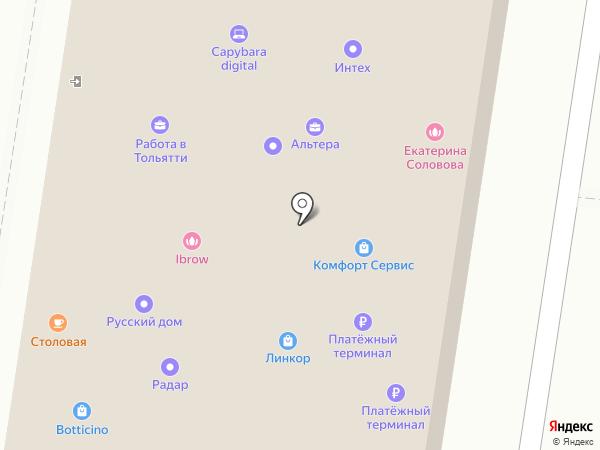 Идея на карте Тольятти