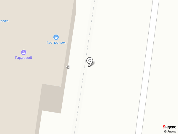 Гастроном на карте Тольятти