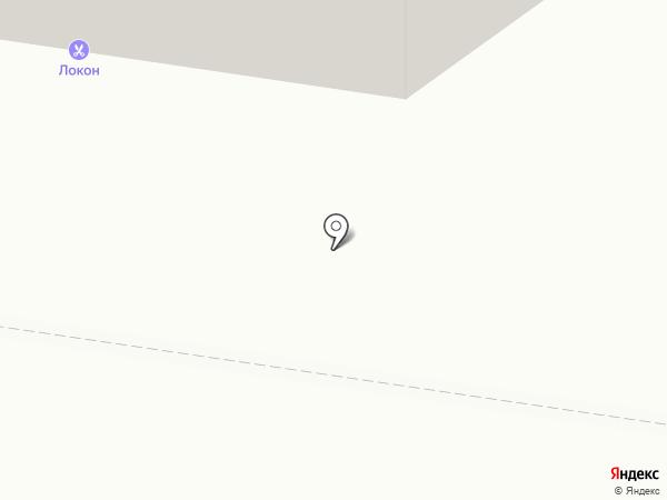 Локон на карте Тольятти