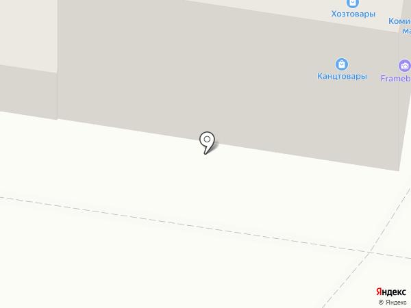 Магазин нижнего белья на карте Тольятти