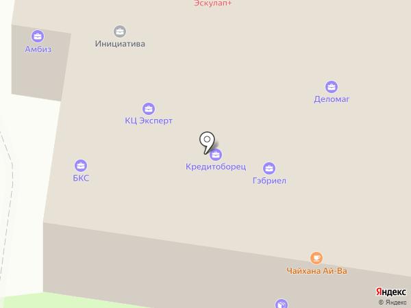 Строительная компания на карте Тольятти
