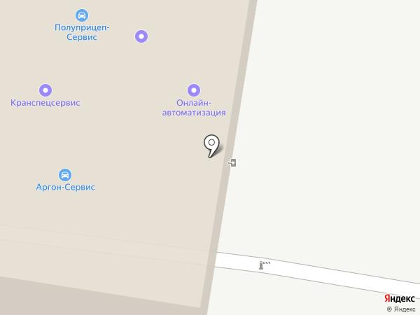 Ковалев В.Н. на карте Тольятти