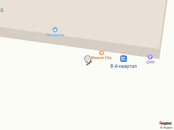 Продуктовый магазин на карте Тольятти