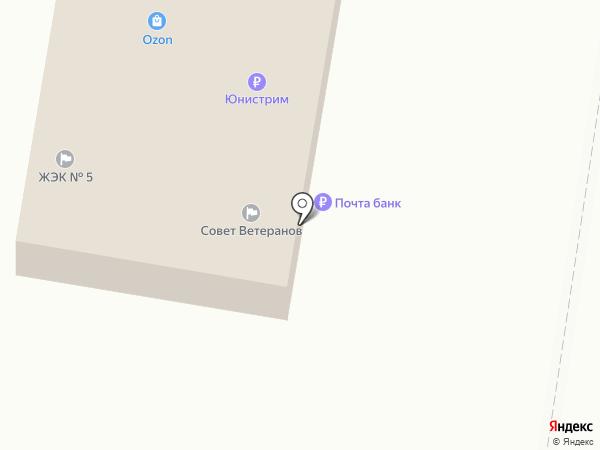 Совет ветеранов Автозаводского района на карте Тольятти
