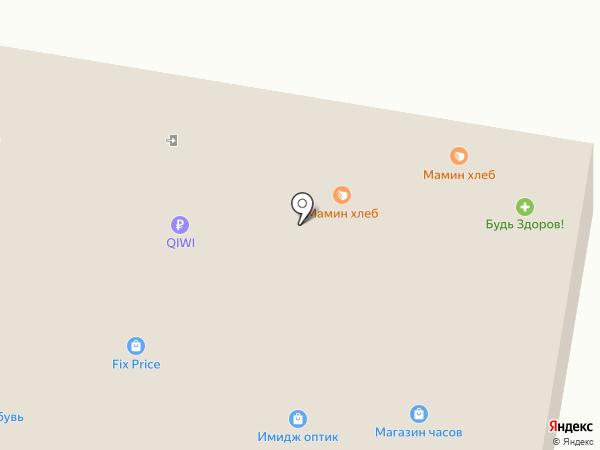 Золотая линия на карте Тольятти