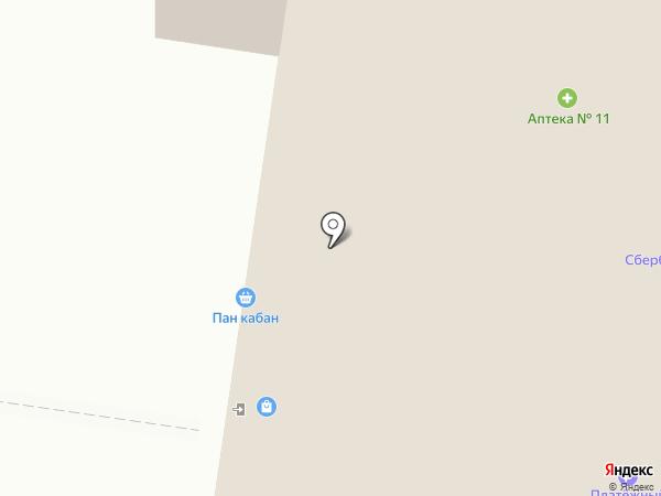 МелОК на карте Тольятти