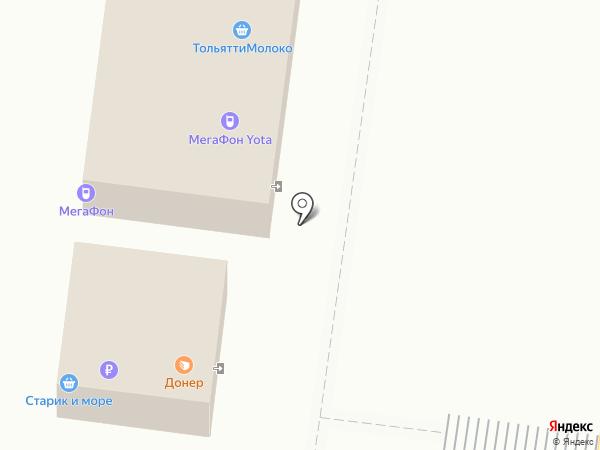 Кар займ на карте Тольятти