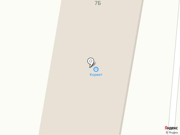Почтовое отделение на карте Выселков