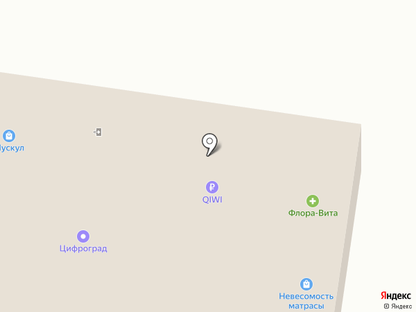 Секонд-хенд на карте Тольятти