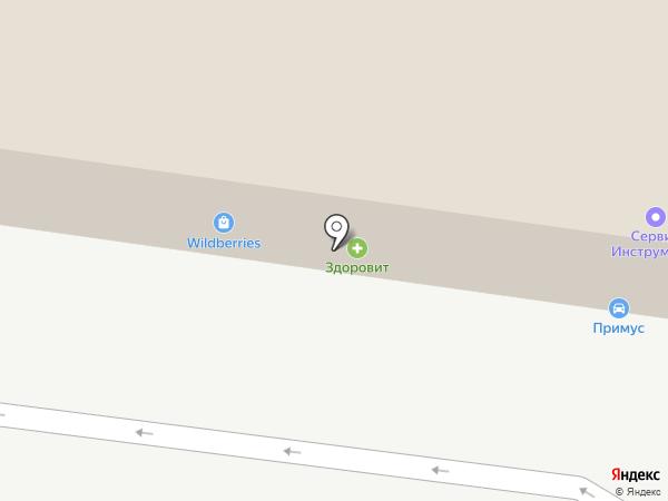 САНШАЙН на карте Тольятти