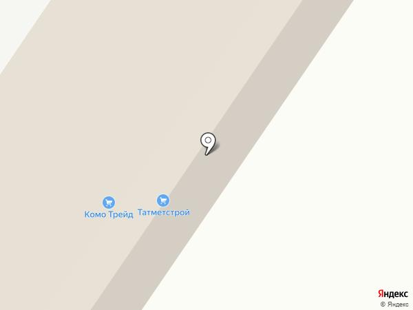 КОМО Трейд на карте Высокой Горы