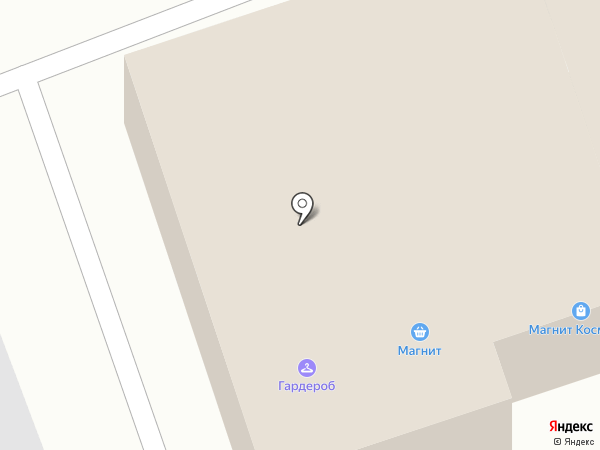 Магнит на карте Выселков