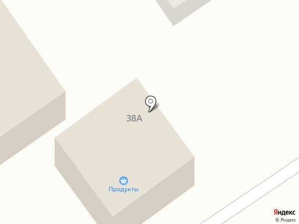 Продуктовый магазин на Центральной на карте Жигулей