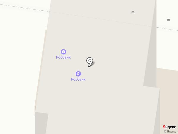 Банкомат, Росбанк, ПАО на карте Тольятти