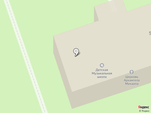 Храм во имя Архангела Михаила на карте Выселков