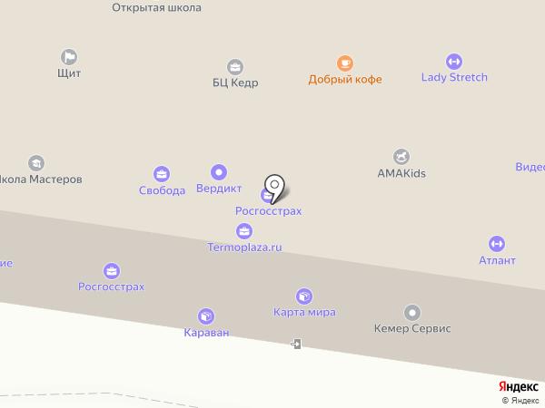 Росгосстрах банк, ПАО на карте Тольятти