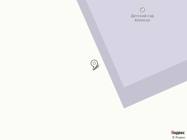 Колосок на карте Жигулей