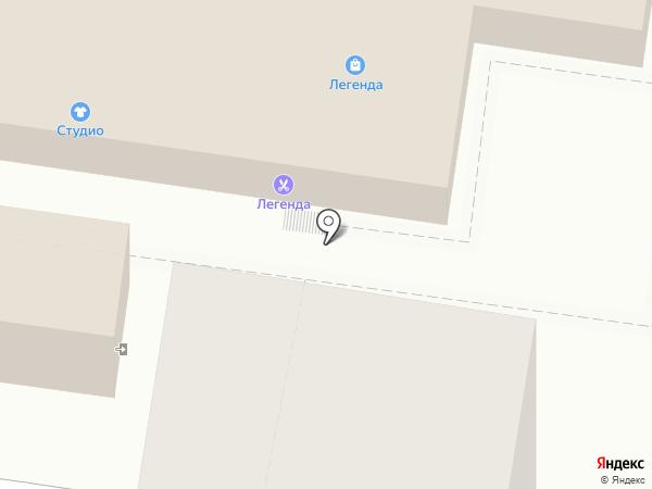 Ремонтная мастерская на карте Тольятти