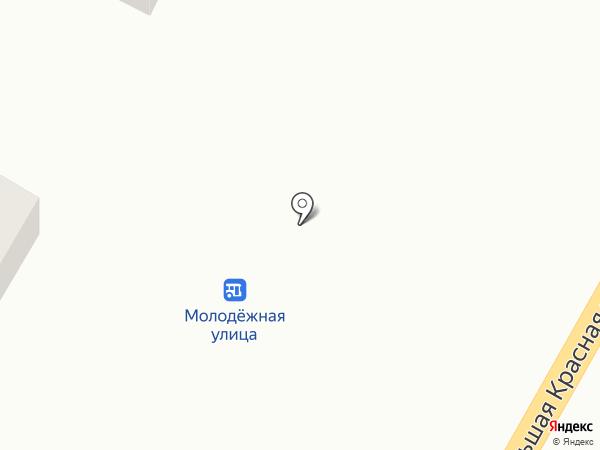 Магазин автотоваров на карте Высокой Горы