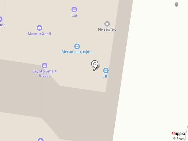 Адонис на карте Тольятти