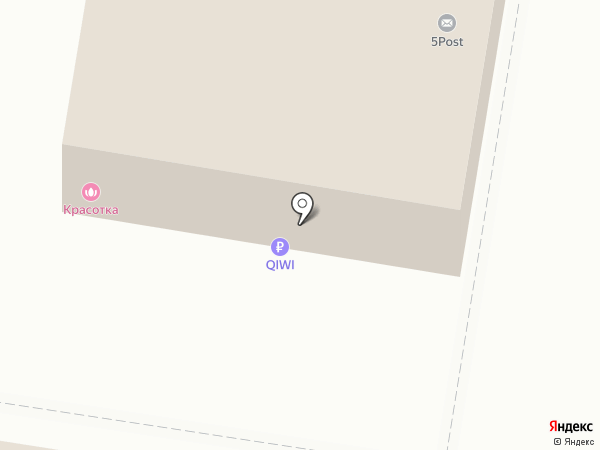 Красотка на карте Тольятти