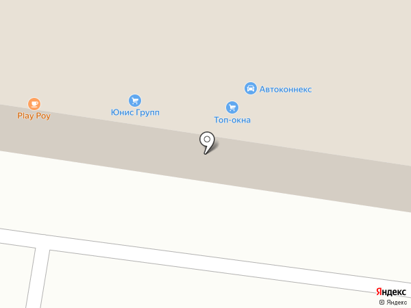 Сокол на карте Тольятти