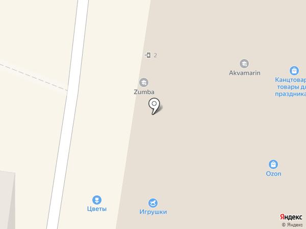 Водомат на карте Тольятти