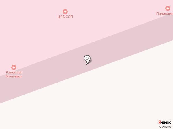 Высокогорская центральная районная больница на карте Высокой Горы