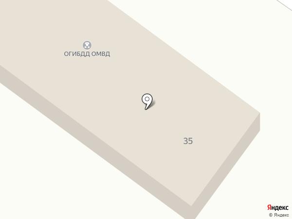Отделение ГИБДД ОВД по Высокогорскому району на карте Высокой Горы