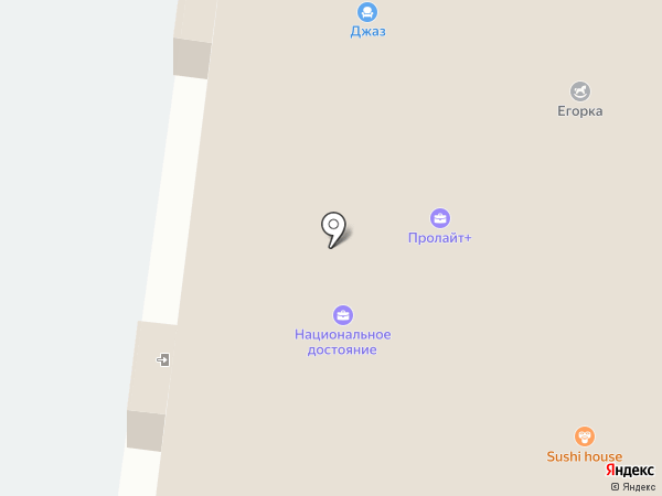 Орион на карте Тольятти