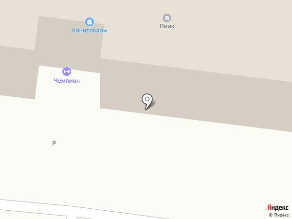 НК на карте Тольятти