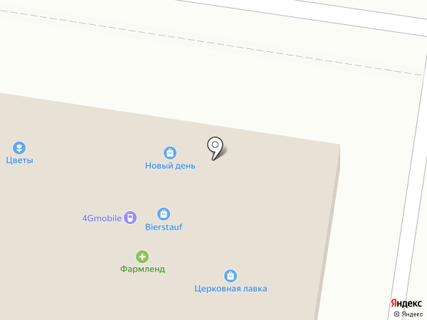 Стриж на карте Тольятти