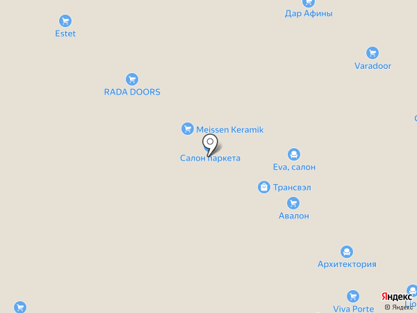 Шалео на карте Тольятти