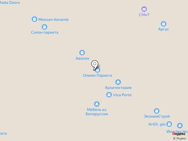 Академия Комфорта на карте Тольятти